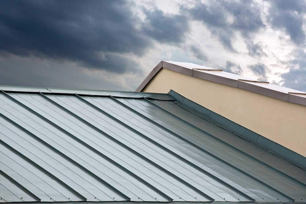 Close-Up-of-Metal-Roof
