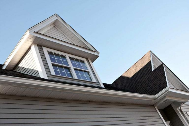 What is a soffit?