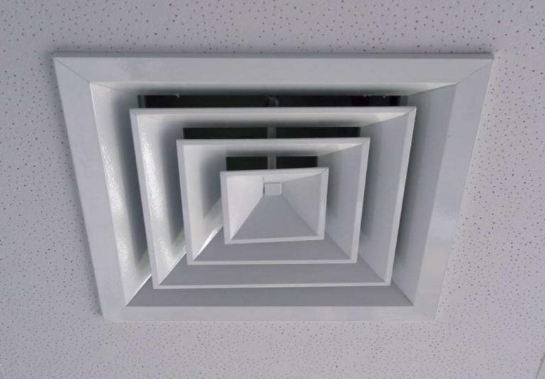 Ventilation grille, extractor fan for background
